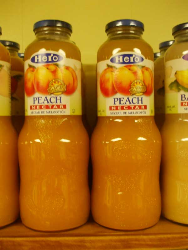 Hero Peach Nectar 1 ltr