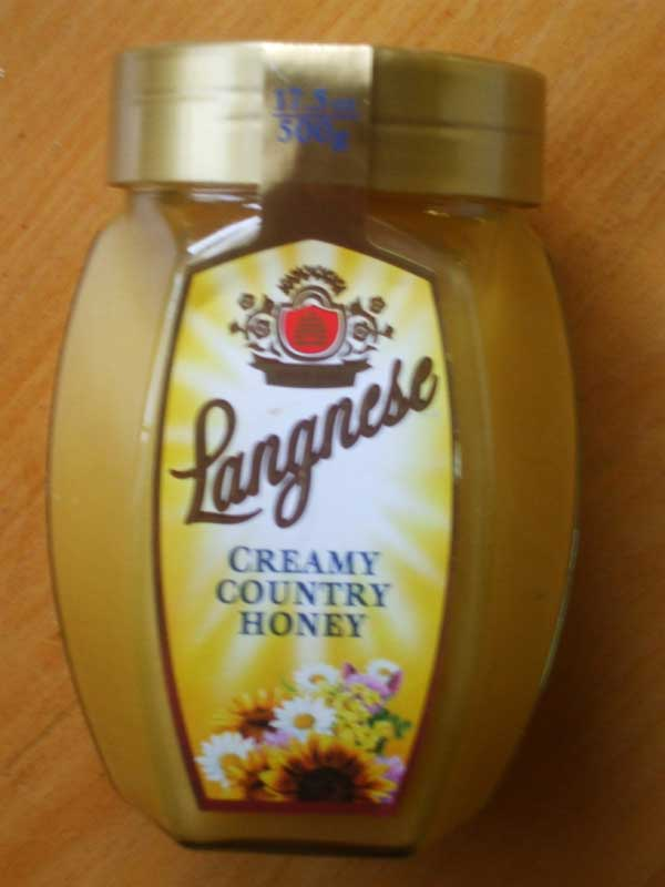 Langnese Country Honey Creamy, 17.5 oz/500g