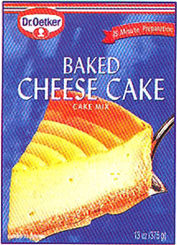 Dr. Oetker Baked Cheese Cake Mix
