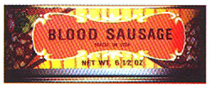 Geier's Blood Sausage in can, 6.5oz