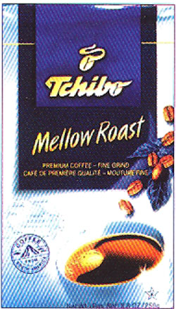 Tchibo Cafe Mellow Roast, 8oz