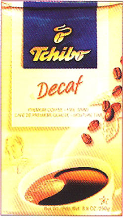 Tchibo Cafe Sana (Decaffeinated),8oz