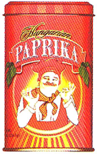 Bende Hungarian Sweet Paprika in tin