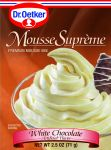 Dr. Oetker Mousse Supreme, White Chocolate