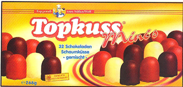 Grabower Mini Topkuss Assorted (white, milk, dark chocolate)