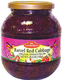 Gundelsheim Barrel Red Cabbage in Jar