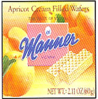 Manner Apricot Wafers