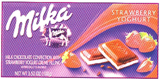 Milka Strawberry Yogurt Bar