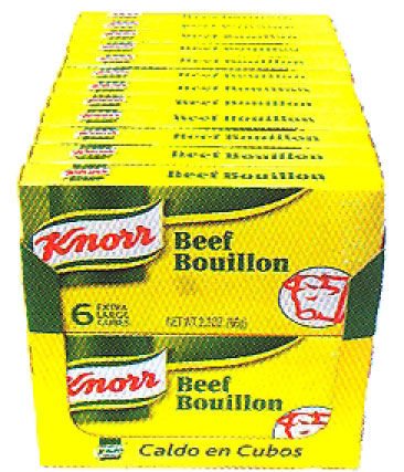 Knorr Beef Bouillon Cubes, 6's