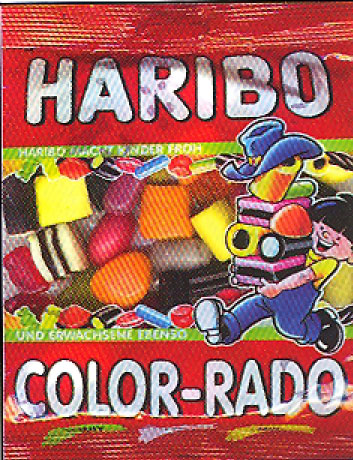 Haribo Color-Rado Mixed Assortment in bag