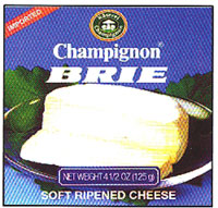 Champignon German Brie Tin in Box, 125g