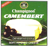 Champignon German Camembert Tin in box, 125g