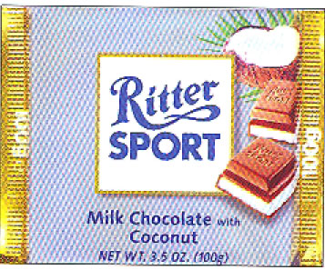 Ritter Coconut Chocolate