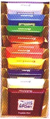 Ritter Sport 9-Pack Assorted Dark Mini-Bars