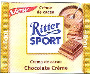Ritter Dark Chocolate Creme Filled Bar