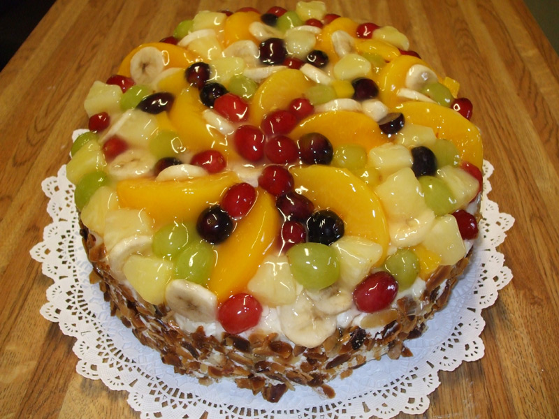 German Fruit Torte (12 servings)