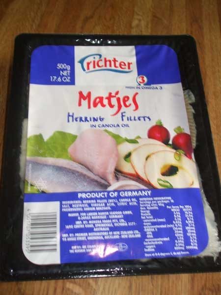 Richter Matjes Herring Fillets, 17.5oz