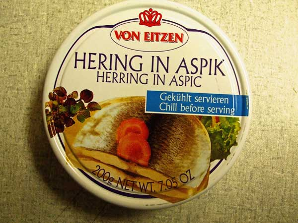 Herring in Aspic (Hering in Aspik)