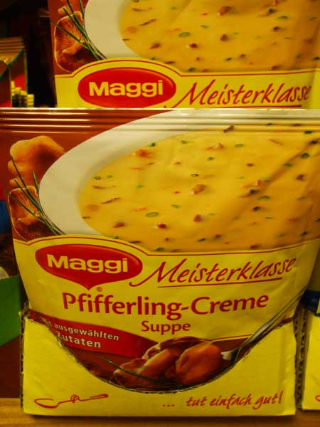 Maggi Meisterklasse Pfifferling-Creme Suppe - 2 Teller