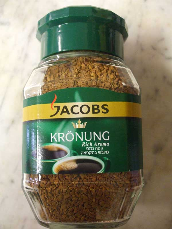 Jacobs Krönung instant Coffee, 3.5 oz