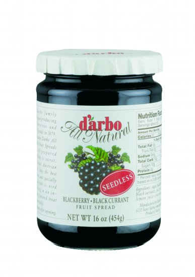 Darbo Blackberry-Black Currant Fruit Spread