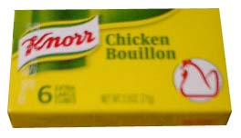Knorr Chicken Bouillon cubes, 6's