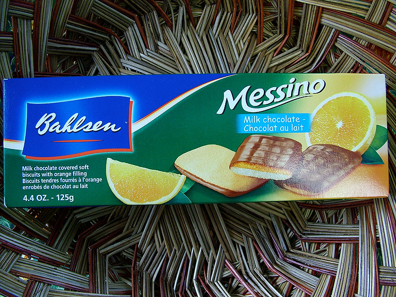 Bahlsen Messino - Milk Chocolate - Chocolat au lait, 125g