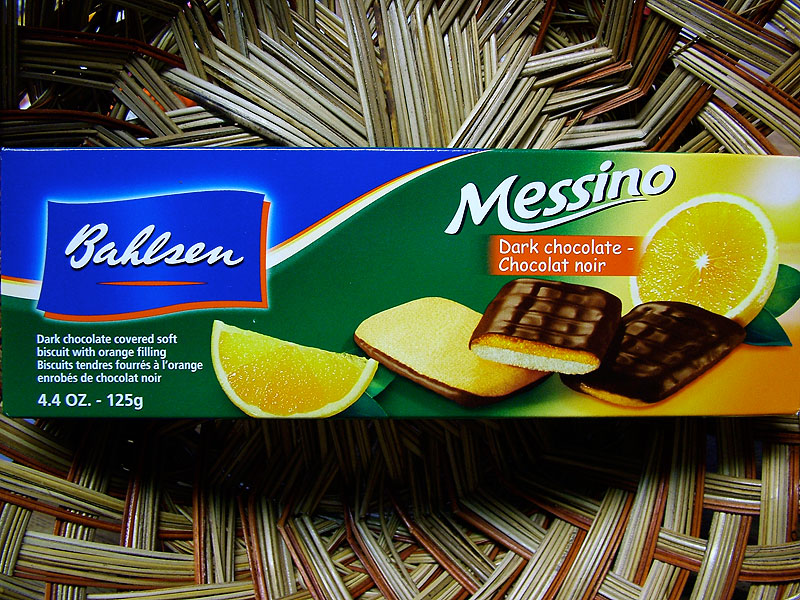 Bahlsen Messino - Dark Chocolate - Chocolat noir, 125g