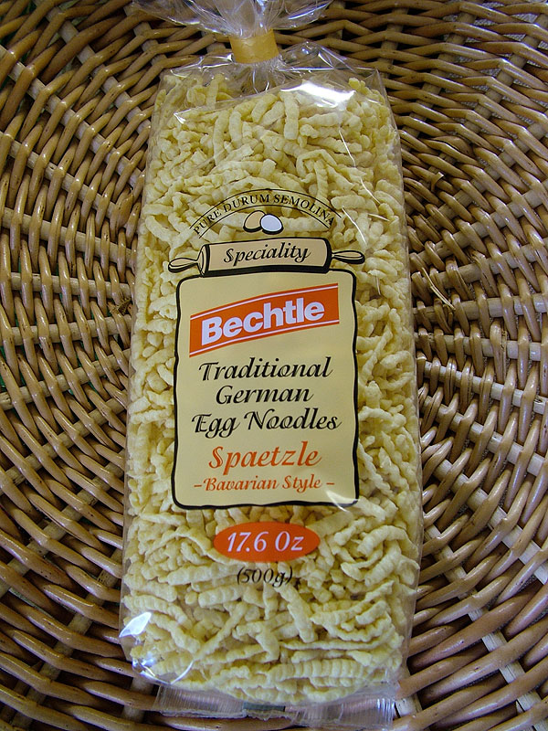 Bechtle Traditional German Egg Noodles, Blackforest Style