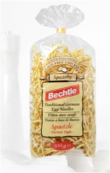 Bechtle Traditional German Egg Pasta Farmer Style Spaetzle