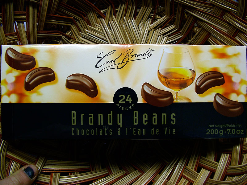 Carl Brandt Brandy Beans, 24 pieces - 200g