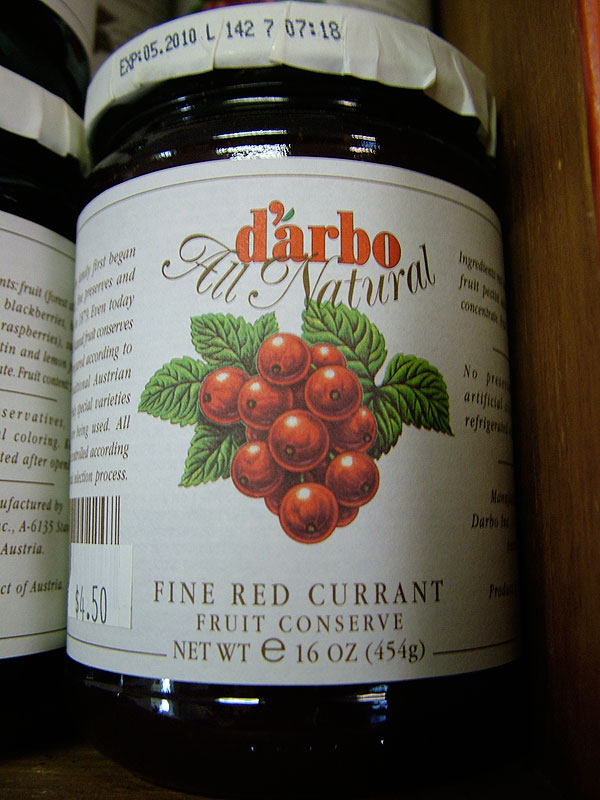Darbo Fine Red Currant Fruit Spread