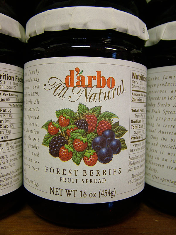 Darbo Forest Berries Fruit Spread