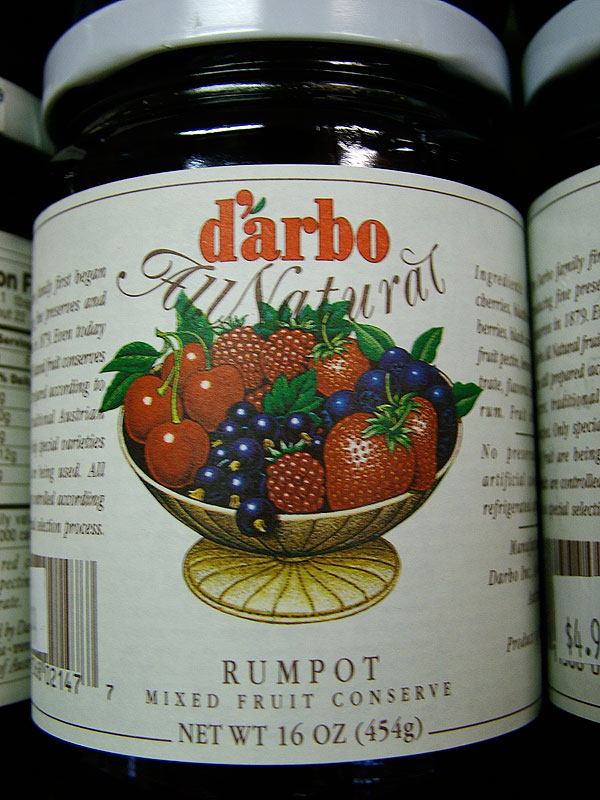 Darbo Fine Black Currant Fruit Spread