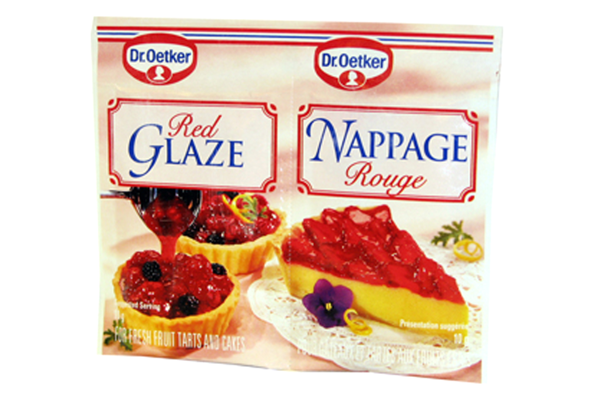 Dr. Oetker Red Glaze