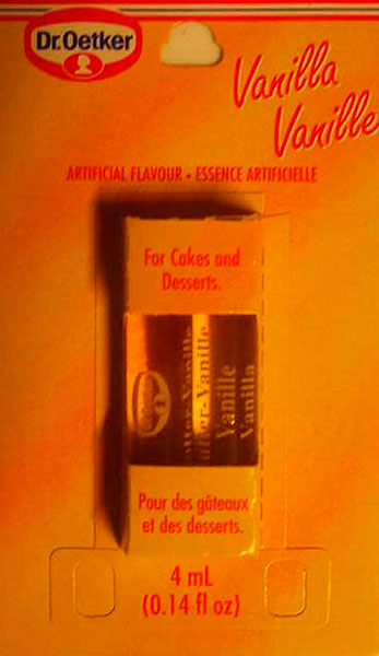 Dr. Oetker Vanilla Artificial Flavor/Essence Artificielle