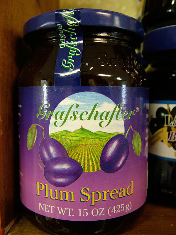 Grafschafter Plum Spread, 15oz/425g
