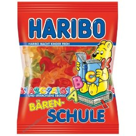 Haribo Alphabet Letters Gummi Candy in bag, 200g