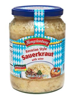 Hengstenberg Bavarian Style Sauerkraut with Wine