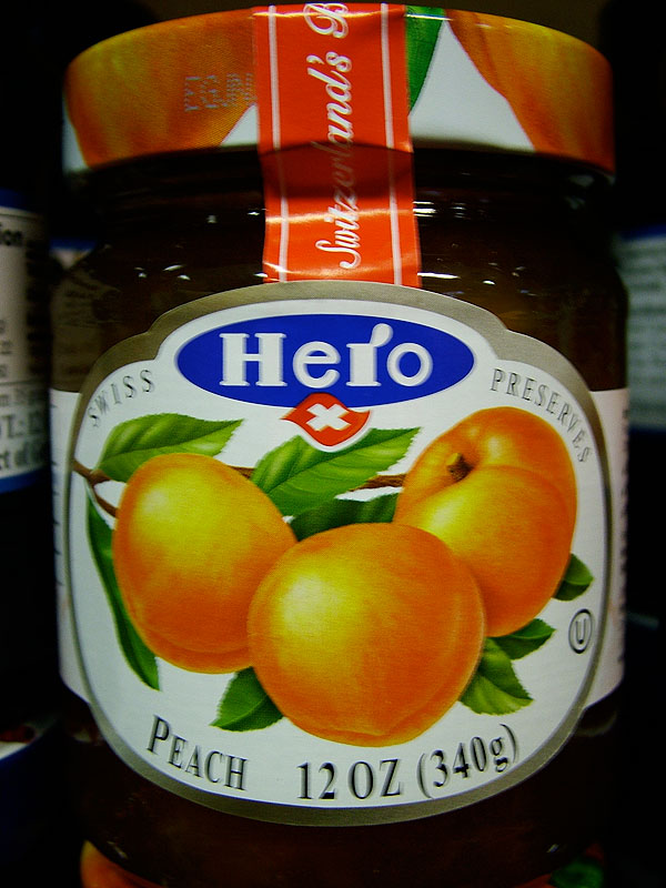 Hero Swiss Preserves - Peach