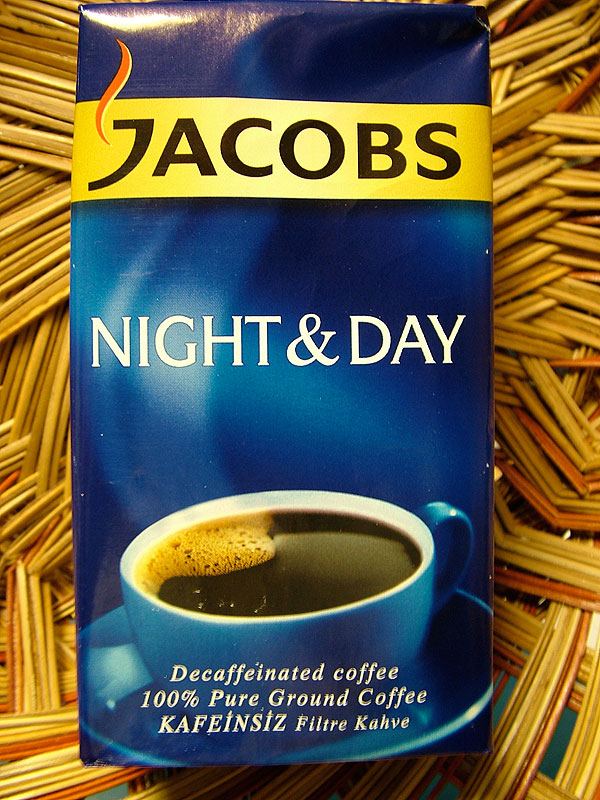 Jacobs Night & Day Decaffeinated Coffee, 250g