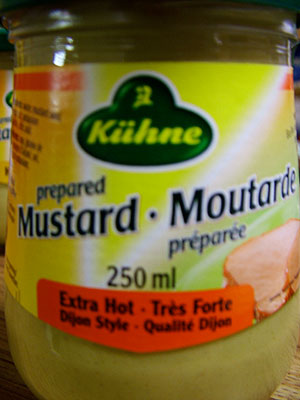 Kühne Prepared Mustard - Extra Hot