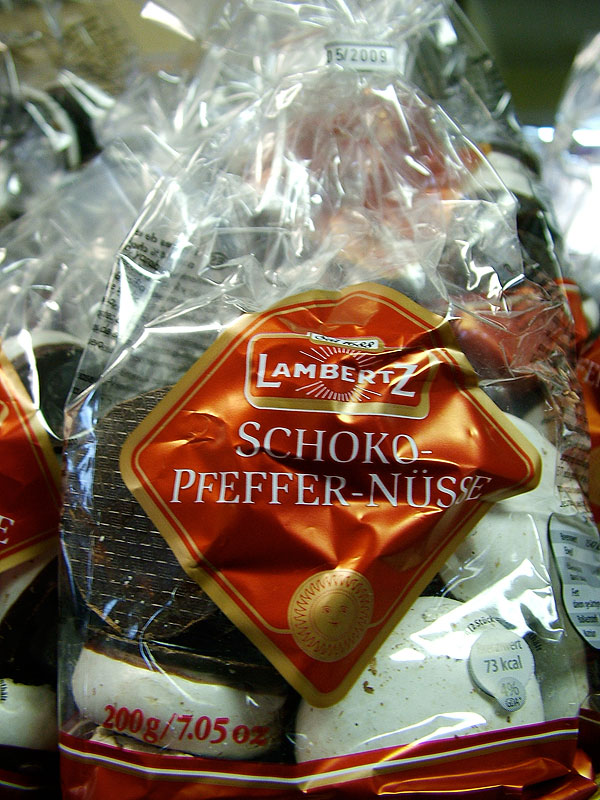 Lambertz Chocolate Glazed Gingerbread Nuts, 200g