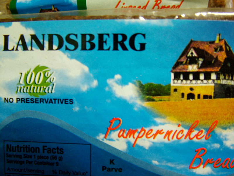 Landsberg Pumpernickel Bread