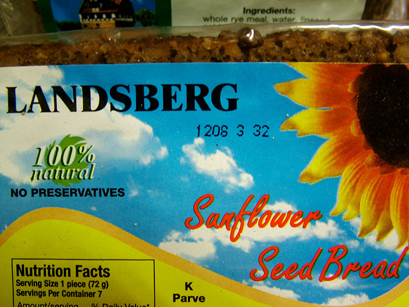 Landsberg Sunflower Seed Bread