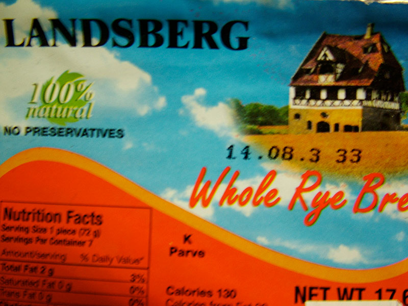 Landsberg Whole Rye Bread