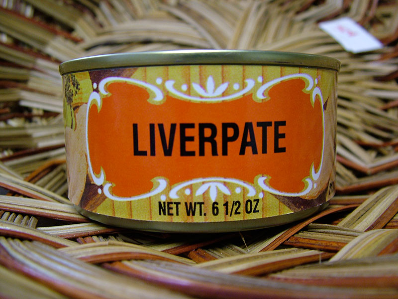 Geier's Liverpate in can, 6.5oz