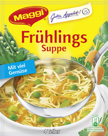 Maggi Frühlings Suppe - 4 Teller