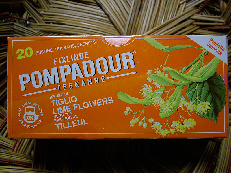 Pompadour Lime Flowers Herb Tea, 20 Bags