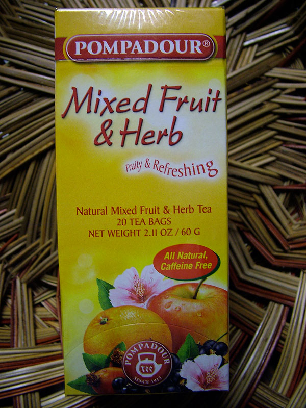 Pompadour Mixed Fruit & Herb Tea, 20 Bags